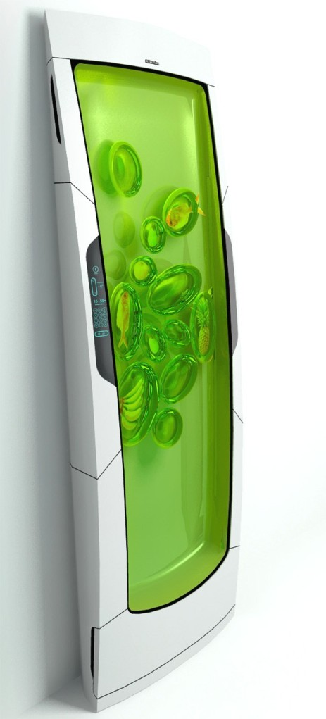 Maybe we'll go with that biopolymer gel fridge instead.  Btw, you can check this refrigerator out at http://www.yankodesign.com/2010/06/21/bio-robot-refrigerator/